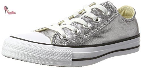 baskets mode converse 153180c chuck taylor all star ox gris
