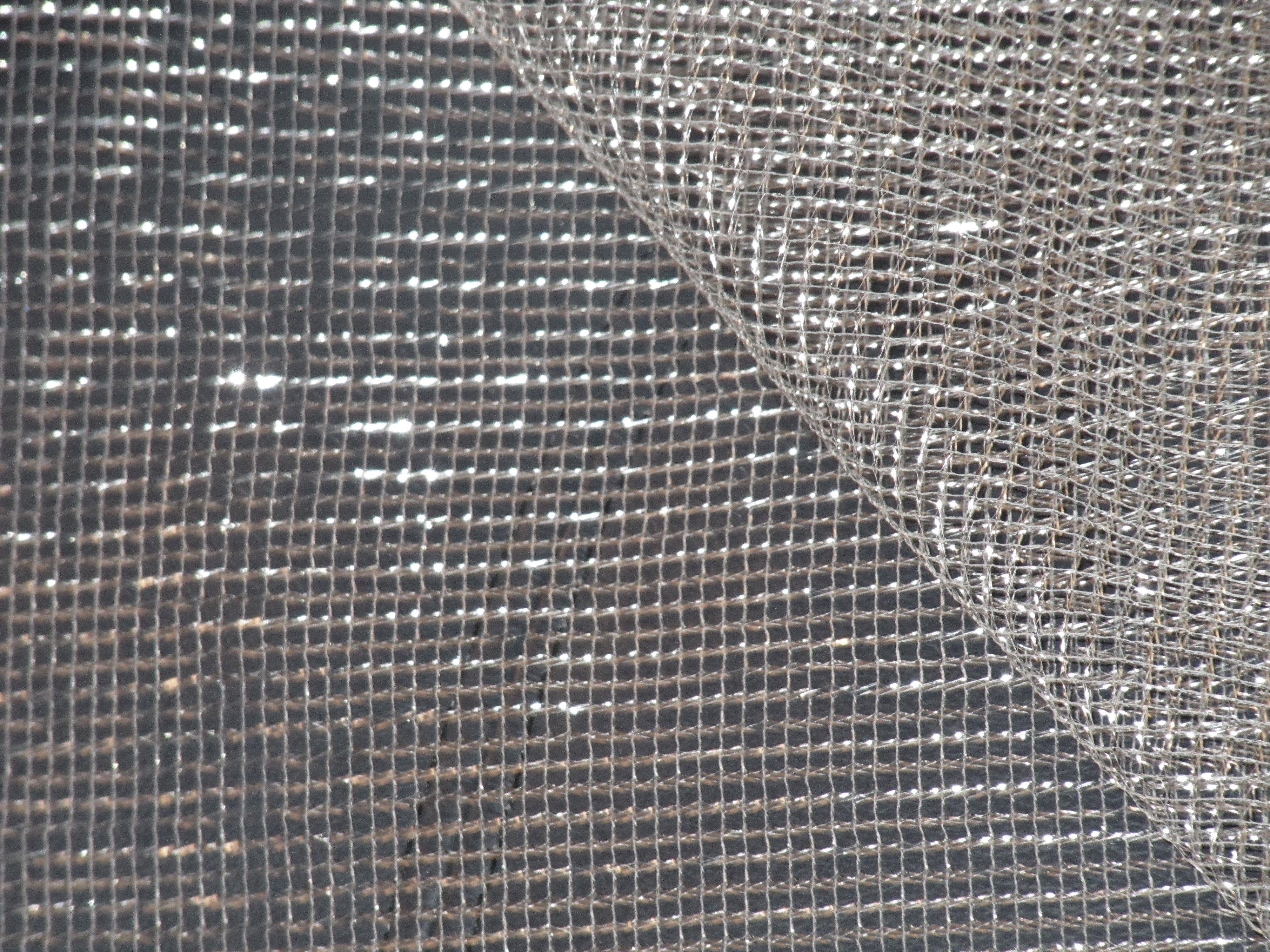 Silver mesh