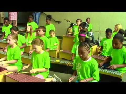Ode to Joy arrangement by LPAS 5th graders - YouTube