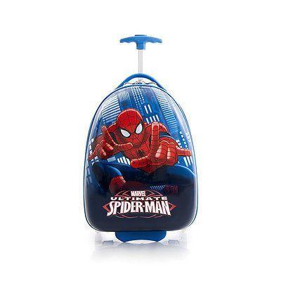 Heys Kids Travel Set Luggage Marvel Spiderman Rolling CarryOn ...