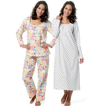 Butterick Sewing Pattern 5667 - Ladies Sleep/Lounge Wear Sizes: XS-S-M-L-XL-XXL Preview