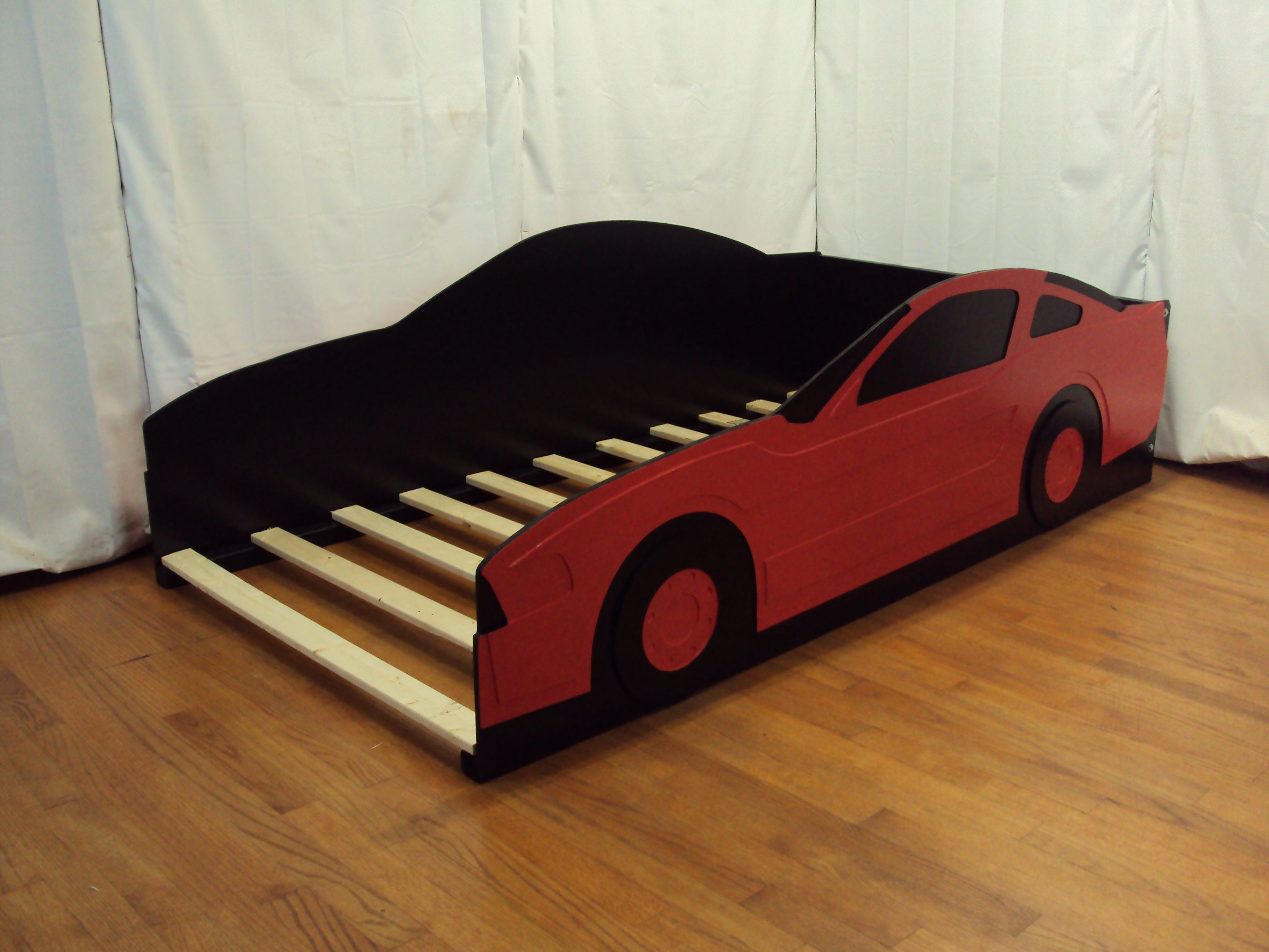 Red Car Bed Twin Size Frame Car Bed Bed Toddler Bed