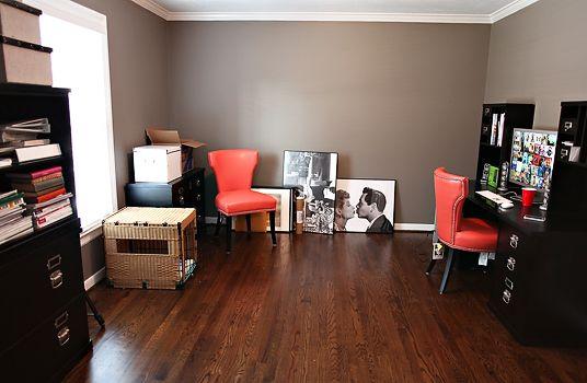 love this paint color restoration hardware slate home. Black Bedroom Furniture Sets. Home Design Ideas
