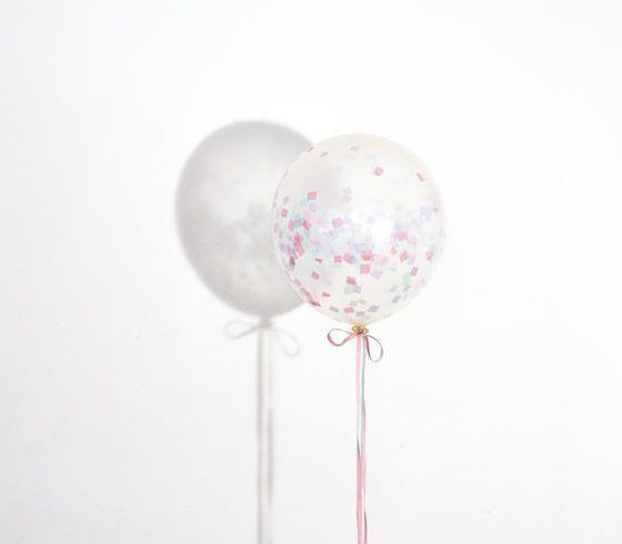 DIY - Ballonger med konfettifyll