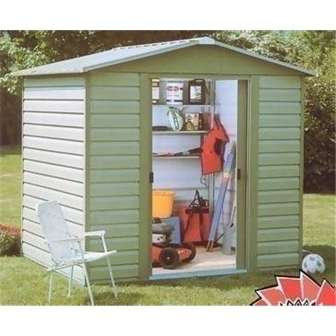 belfast shiplap 94 x 75 apex metal shed free anchor kit