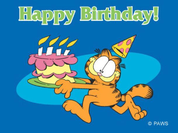 Garfield Geburtstag Geburt