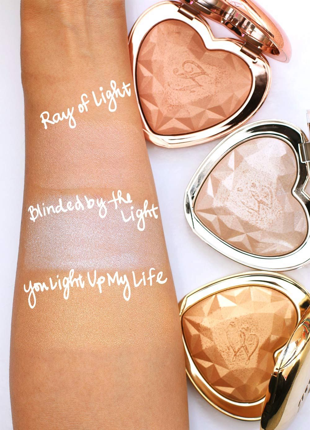Too Faced Love Light Prismatic Highlighter Again Not Sure