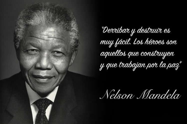 70 Frases De Nelson Mandela Sobre La Vida La Paz Y La Igualdad Nelson Mandela Mandela Frases