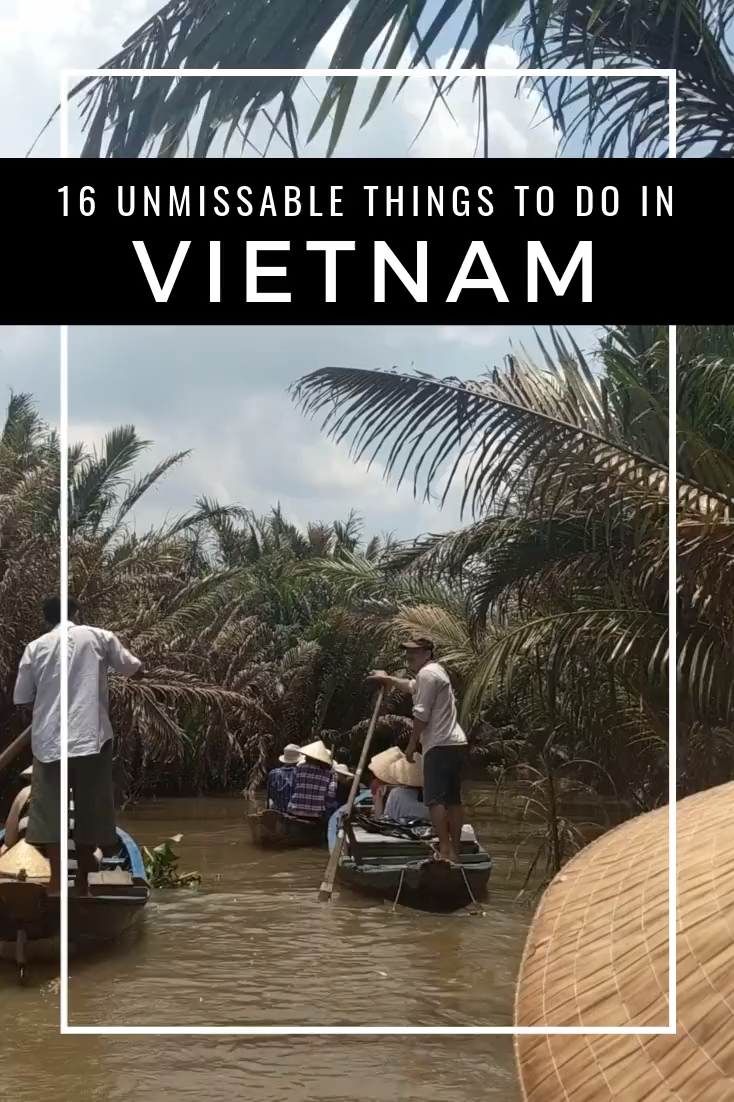 From the stunning limestone cliffs to the the hustle and bustle of the cities, Vietnam is an incredible country to visit in Southeast Asia, brimming with culture and history. Here is my guide of 16 unmissable things to do in Vietnam, including Ha Long Bay, Canyoning and the Cu Chi Tunnels.