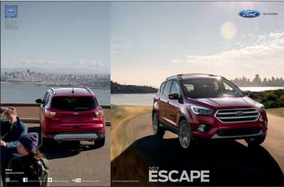 Downloadable 2017 Ford Escape Brochure 2017 Ford Escape Ford