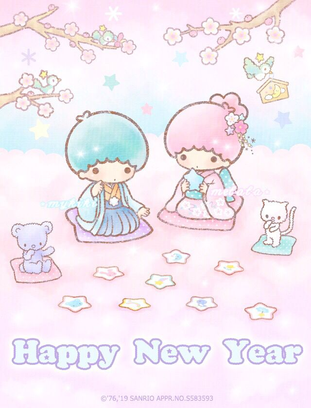Н•ð•šð•¥ð•¥ð•ð•– Н•žð•ªð•œð•šð•œð•š Н•žð•–𝕝𝕒𝕝𝕒 Н•™ð•'𝕡𝕡𝕪 Н•Ÿð•–𝕨 Н•ªð•–𝕒𝕣 Little Twin Stars My Melody Wallpaper Sanrio Wallpaper