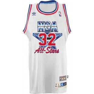 new arrival 25508 ede75 Utah Jazz Adidas NBA Karl Malone #32 1993 All Star Swingman ...