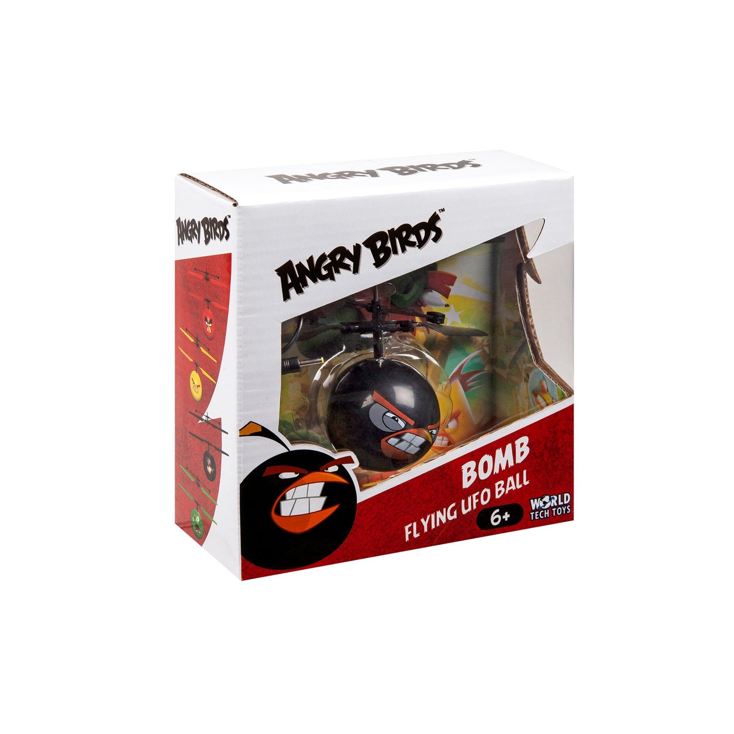 World Tech Toys Angry Birds Bomb Heli Ball #techtoys