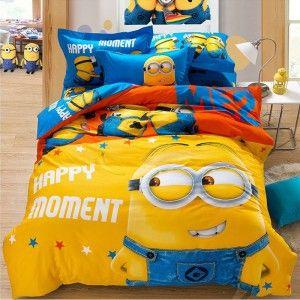 Minions Lenzuola Matrimoniali.Minions Bed Sheets Simply Amazing Thesitcompost