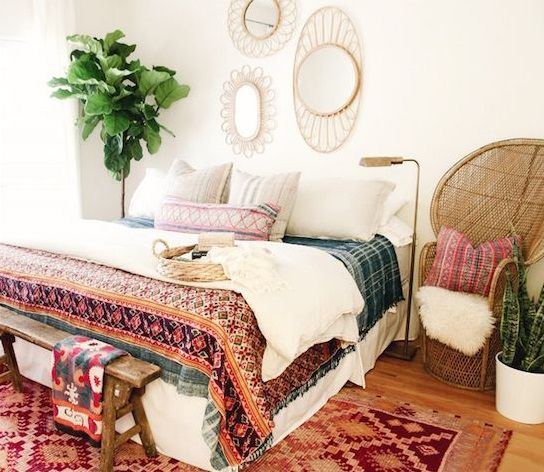 Inspire Bohemia: Design Inspiration: Tribal Southwestern Bohemian Modern. Bedroom  DécorMaster ...