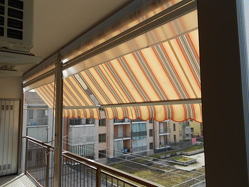 Tende Veranda Estate Inverno : Chiusura completa di balcone con tenda veranda estate inverno