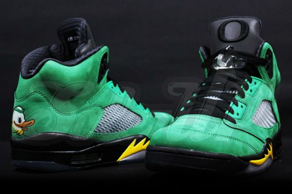 sports shoes 1eeb1 5fc15 Air Jordan V Oregon Ducks (Home)