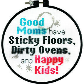Good Moms in Counted Cross Stitch_72-74117