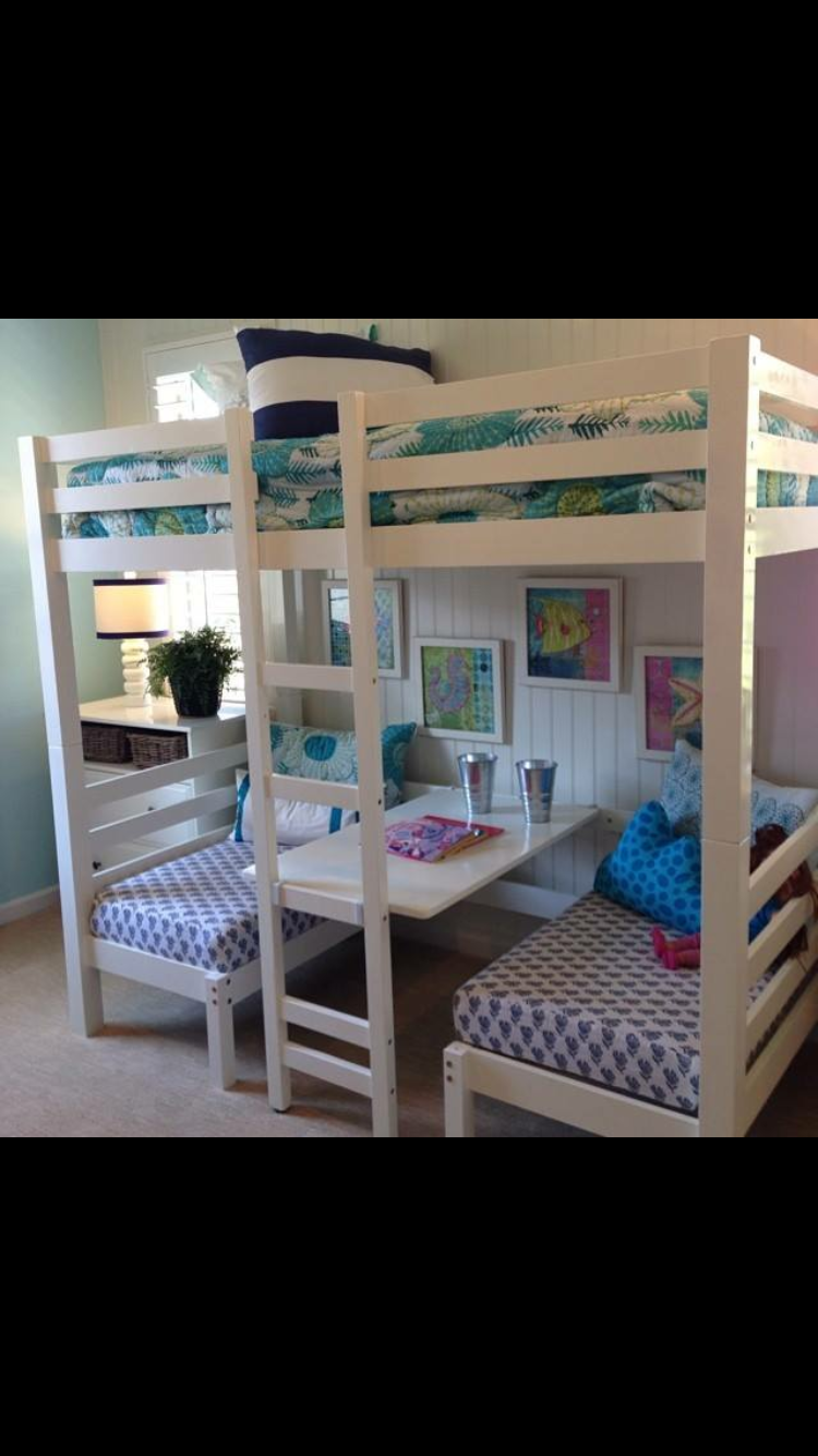Junior loft bed ideas  Pin by Joshua Duggan on Ideas for the House  Pinterest  Bedrooms