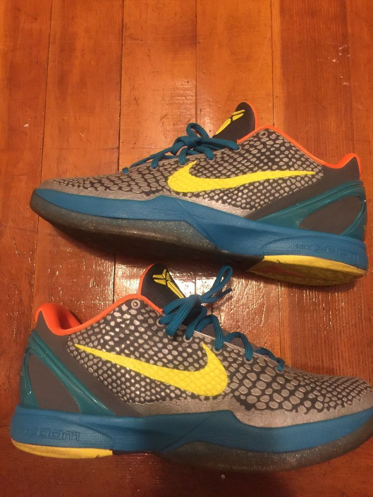 promo code 8a209 f4813 Nike Zoom Kobe VI Wolf Gray Glass Blue-Orange Mens Size 11  fashion   clothing  shoes  accessories  mensshoes  athleticshoes (ebay link)