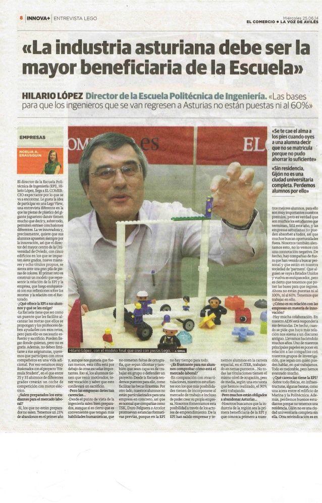 Hilario Lopez Lego View Con Metodología Lego Serious Play