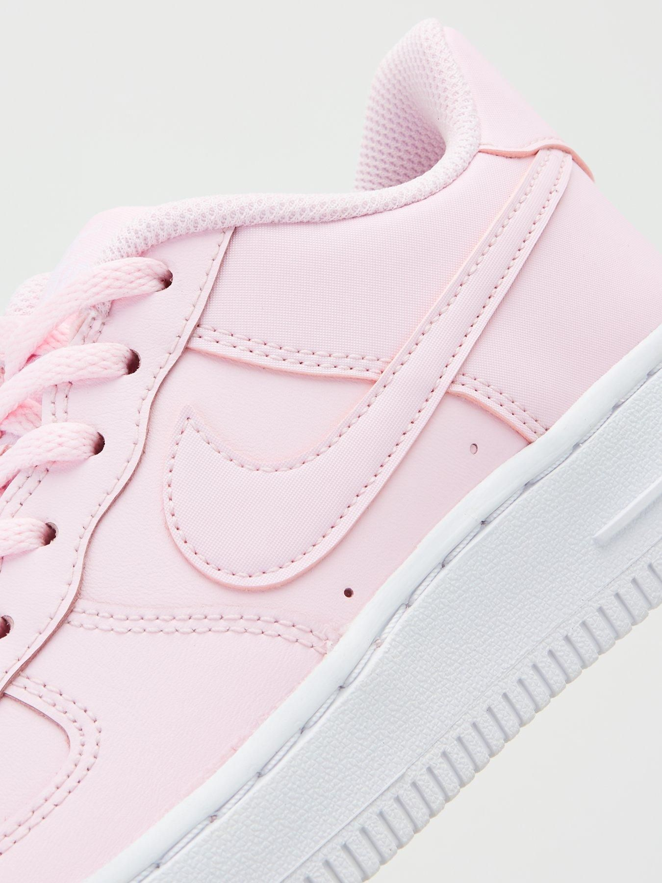 Nike Air Force 1 Junior Trainers Pink In 2020 Nike Air Force Nike Air Air Force