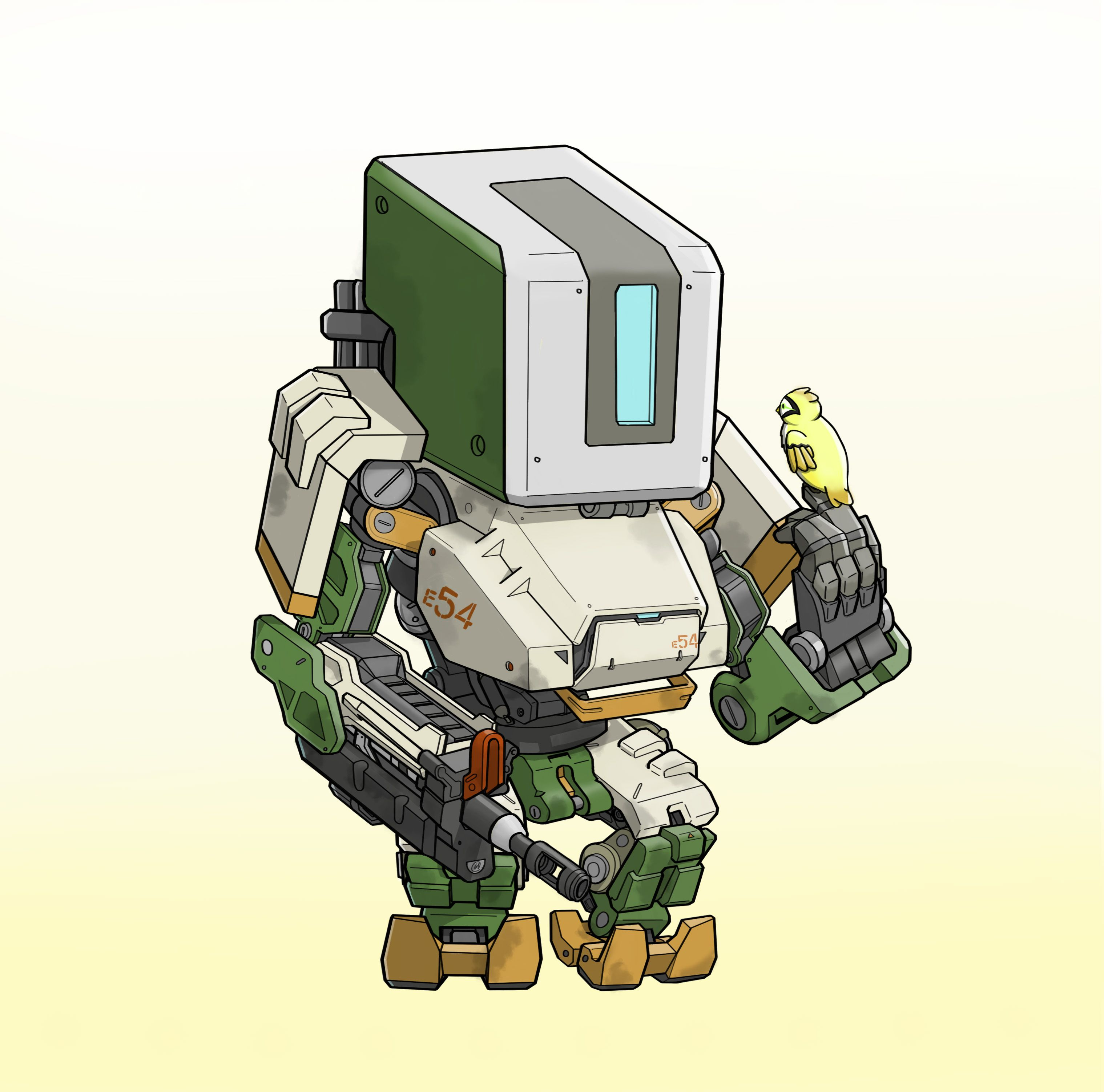 Google themes overwatch - Overwatch Bastion Google Search