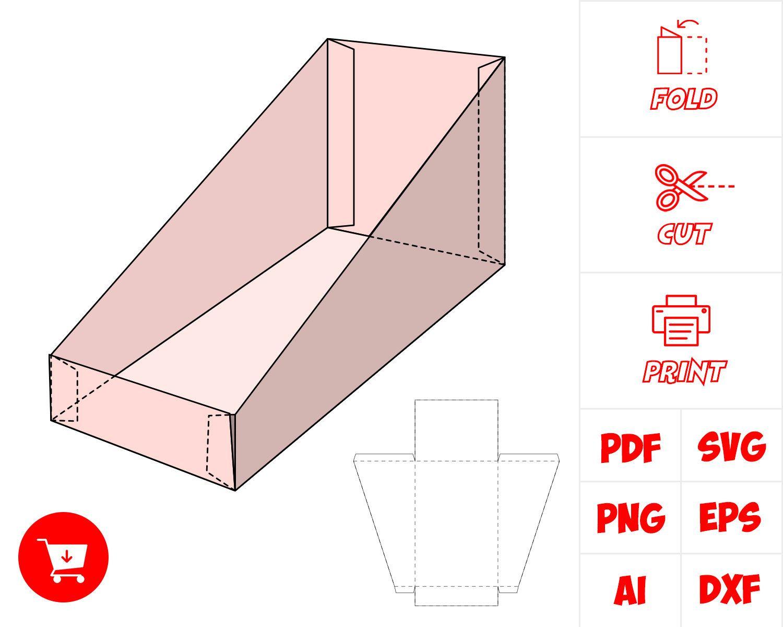 Box Template Box Template Heart Box Template Paper Crafts Diy Tutorials