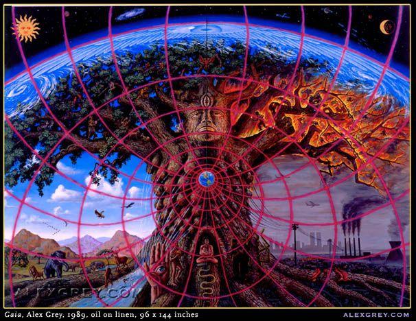 Psychedelic Art by Alex Grey