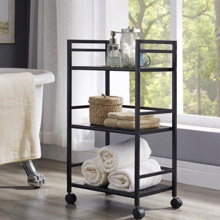 $29.17  Buy Altra Furniture Marshall 3-Shelf Rolling Storage Cart, Multiple Colors at Walmart.com