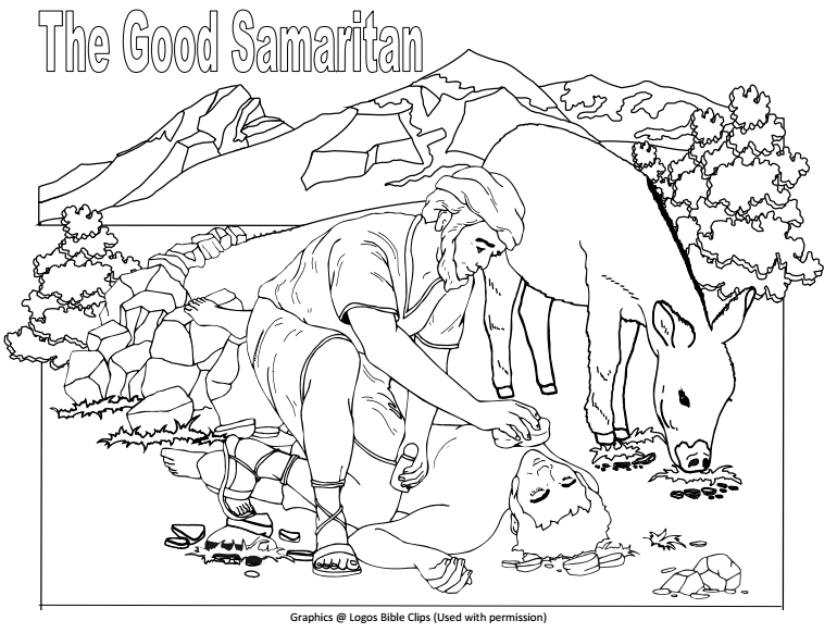 Bible Fun For Kids The Good Samaritan