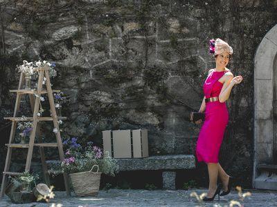 Look 4: cuando lo vintage es TOP para una invitada de boda de día o de tarde