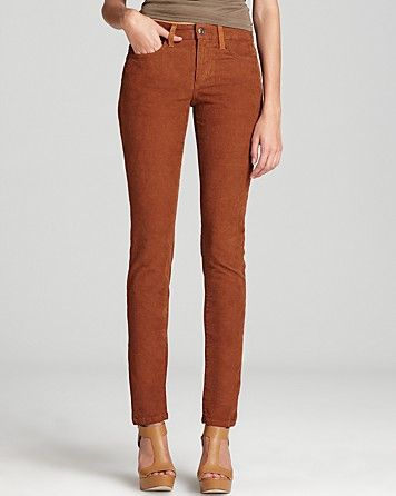 814822627c Joe s Jeans Pants - The Skinny Faded Corduroy with Suede in Cognac ...