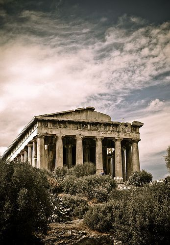 Temple Of Hephaestus In 2020 Greece Architecture Ancient Greek