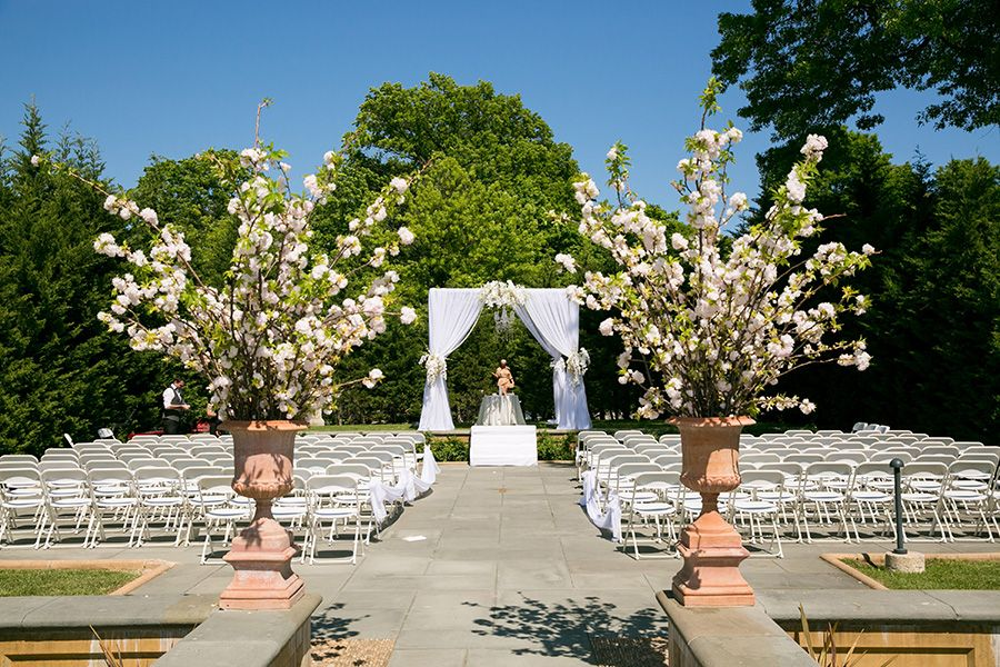 Botanical Garden Wedding On Staten Island