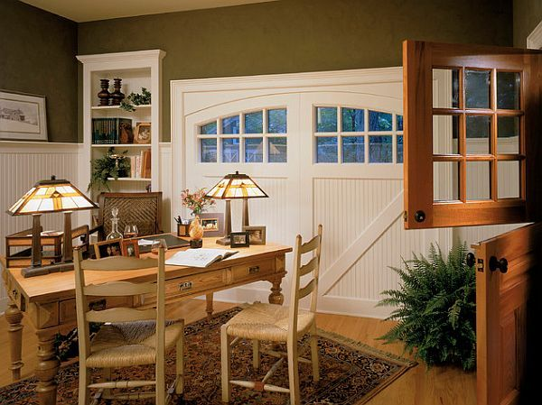 Tips For Transforming Your Garage Garage To Living Space Garage Into Living Space Traditional Home Office