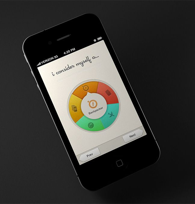 30 Recent Inspirational UI Examples in Mobile Device Screens - Image 29 | Gallery