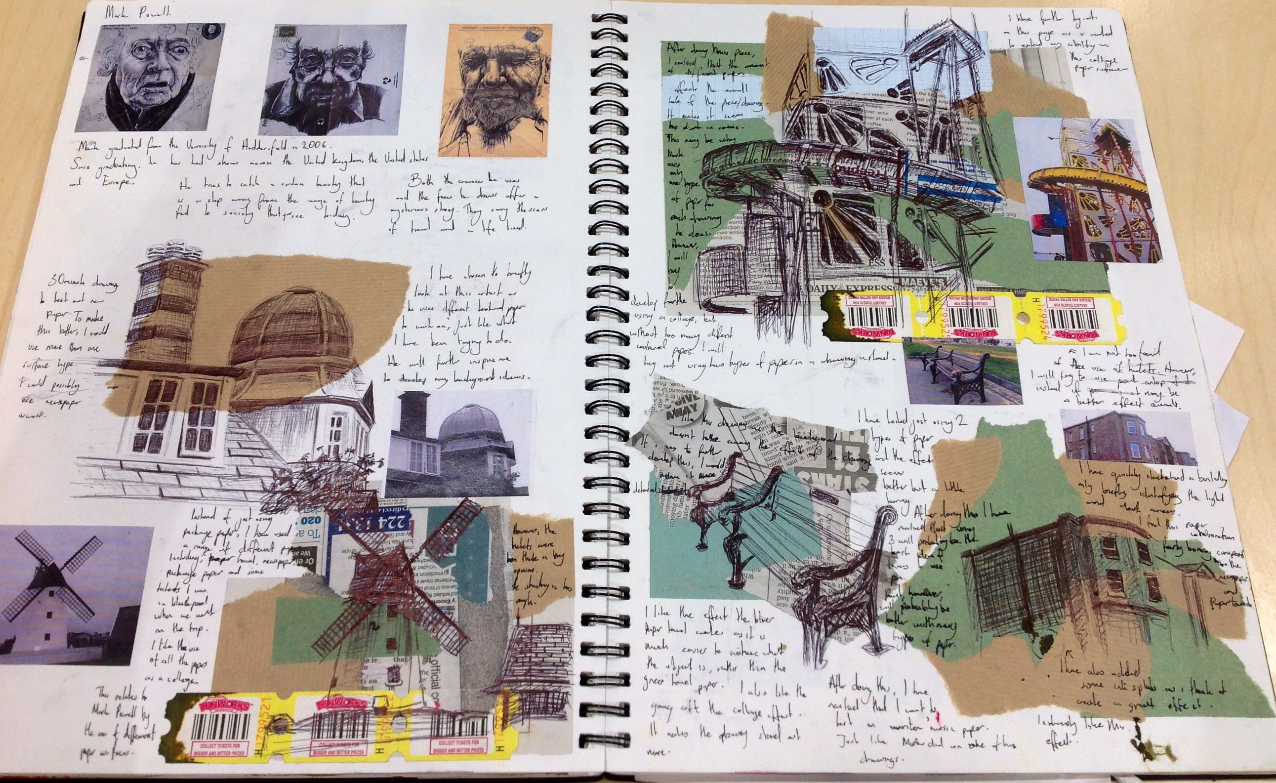 Year 12 Sketchbook A Level Art Sketchbook Sketchbook Layout Gcse Art Sketchbook