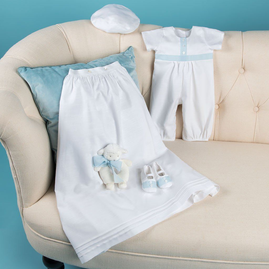 57830701a Finn Jumpsuit Set   Boys Christening Outfits   Baptism Gown