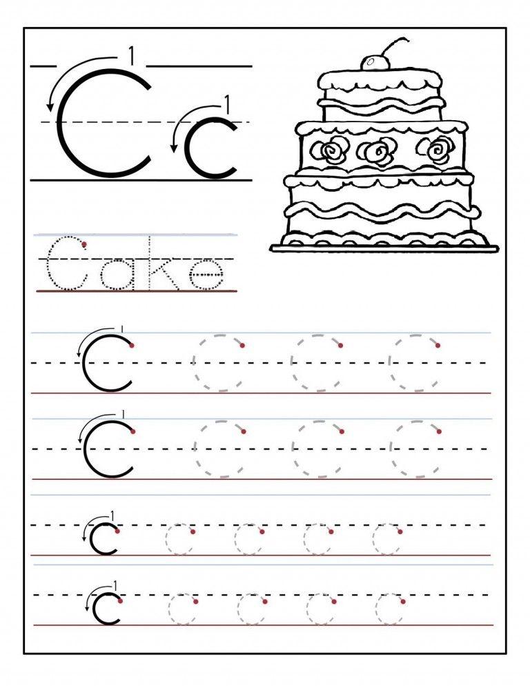 trace the letter c preschool maiyaz skool dayz preschool worksheets letter tracing. Black Bedroom Furniture Sets. Home Design Ideas