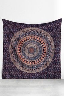 Magical Thinking Logan Medallion Tapestry - Eclectic - Accessories And Decor - by Urban Outfitters