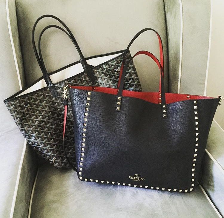 Goyard Saint Louis and Valentino Rock Stud Carry It ALL: The Best ...