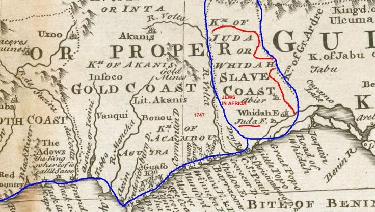 Negroland And Guinea Ancient Egypt And Nubia Map Showing