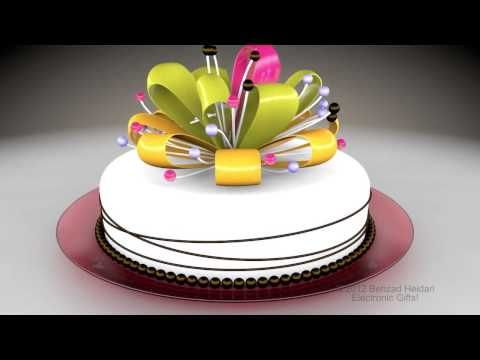 Happy Birthday to you HD 3d animated video greeting e card Cinema – Happy Birthday Video Greeting Cards