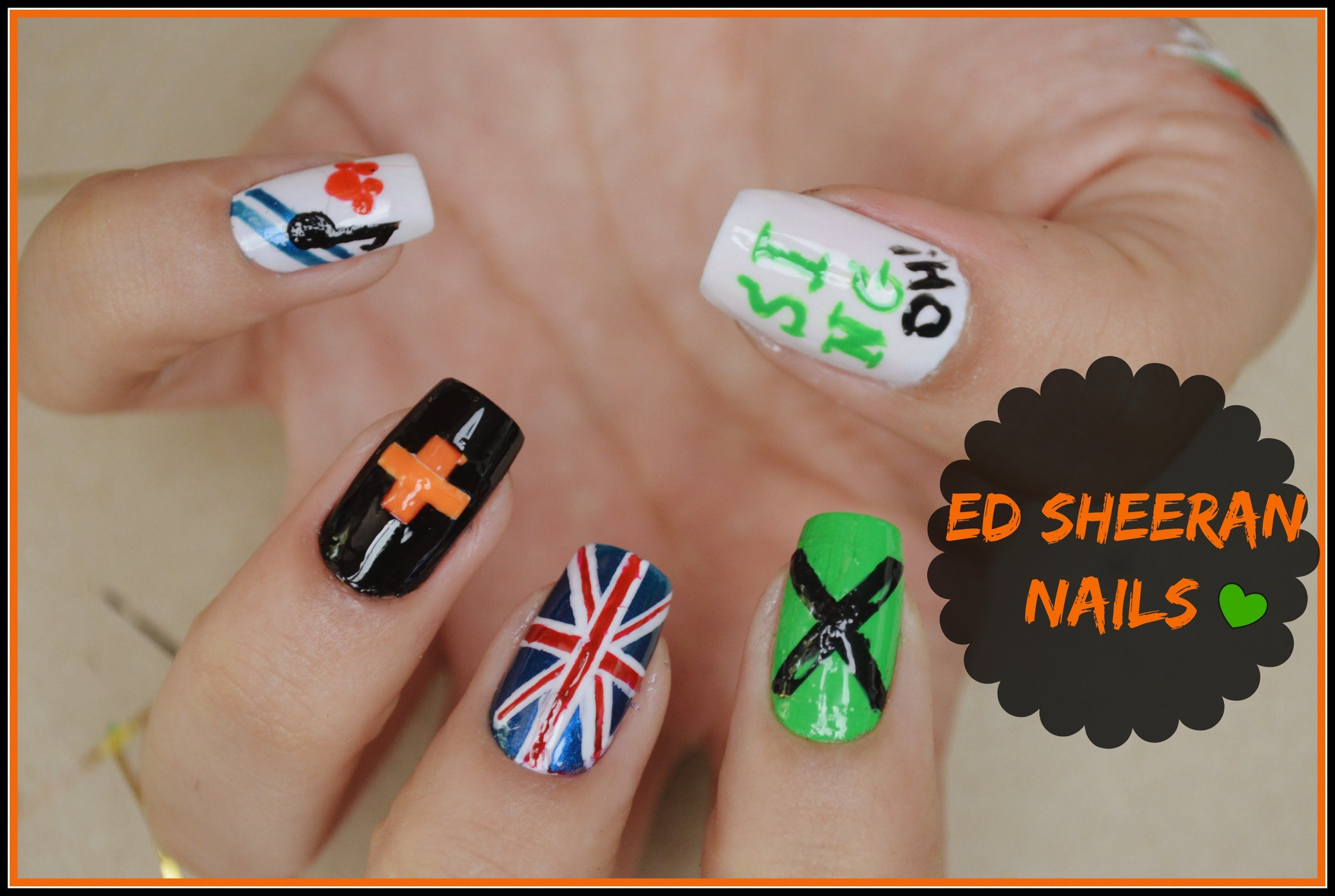ed sheeran nails - Google Search | Nail art | Pinterest | Hair ...