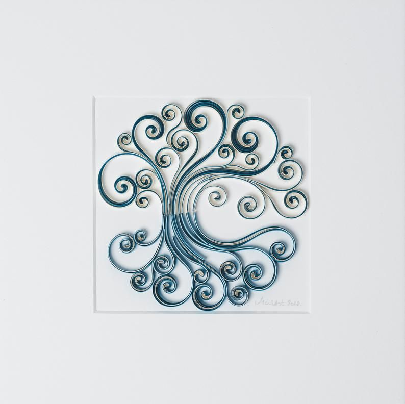 Photo of Tree of Life – 3D Wall Art, Quill art, Quilling, Special Gift for