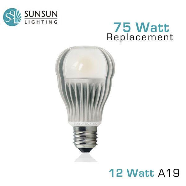 Sunsun 75 Watt Replacement A19 Led Light Bulb Led Light Bulb Led Lights Bulb