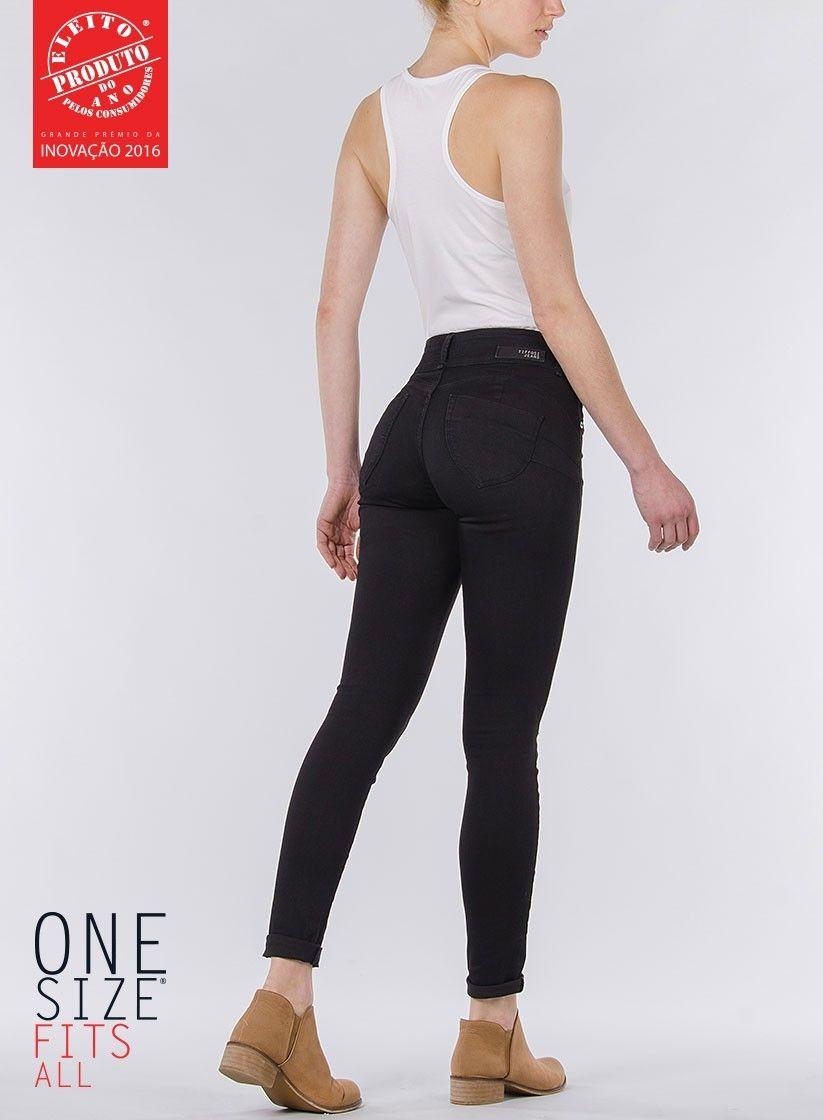 79021c6e87 Tiffosi One Size Fits All Jeans - black skinny, high waist | @mine ...