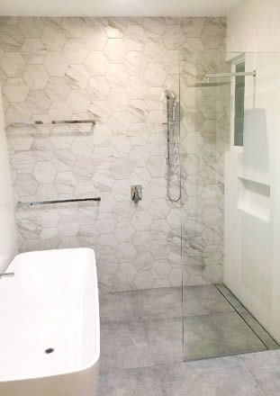 hexagon carrara marble look spanish porcelain tiles these floor tiles can also be used as