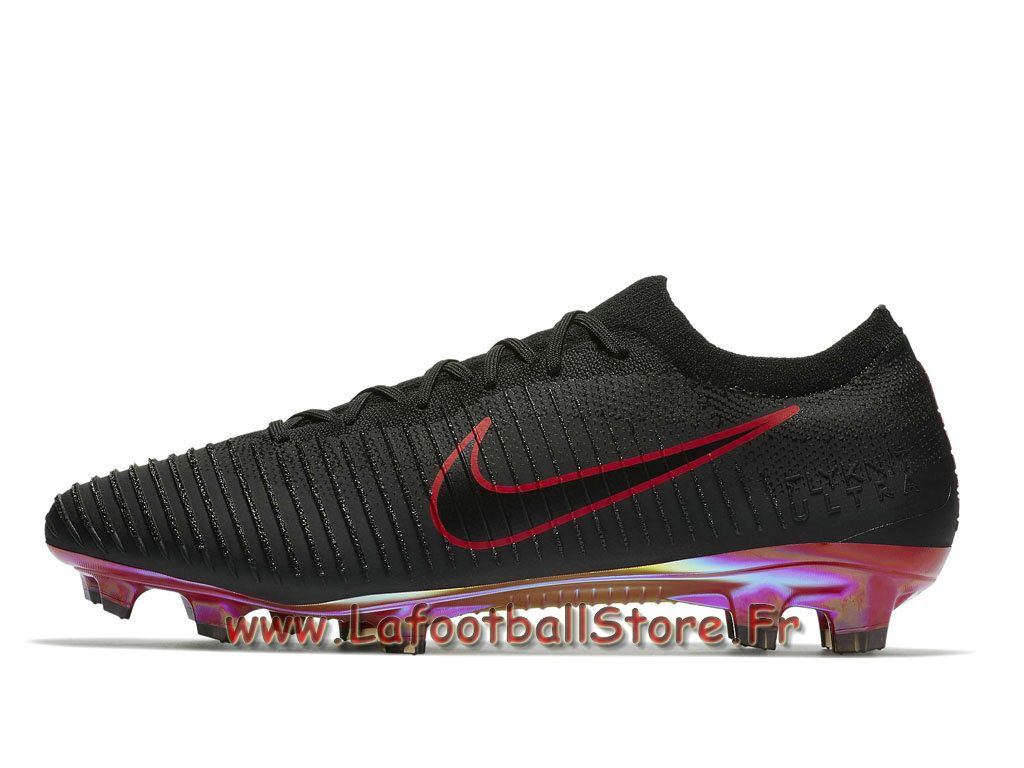 nike flyknit ultra fg chaussure nike 2018 de football à crampons pour terrain sec black